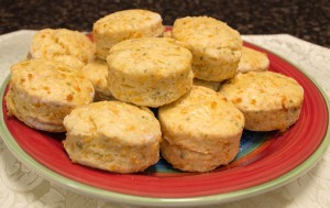 Cheesy Gluten-Free Beer Scones