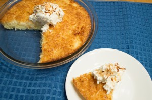 Gluten-Free Impossible Coconut Pie