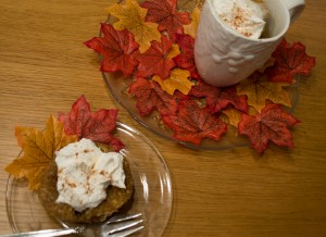 Pumpkin Pie Spice & Coffee Mug Cake