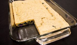 Blueberry Pancake Casserole–Gluten-Free for a Crowd